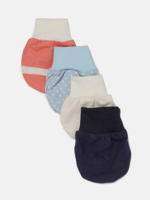 YK Organic Kids Pack of 4 Organic Mittens