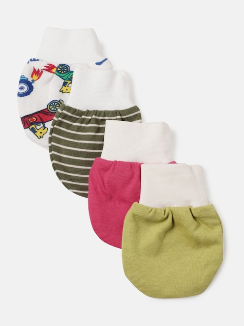 YK Organic Kids Pack of 4 Mittens