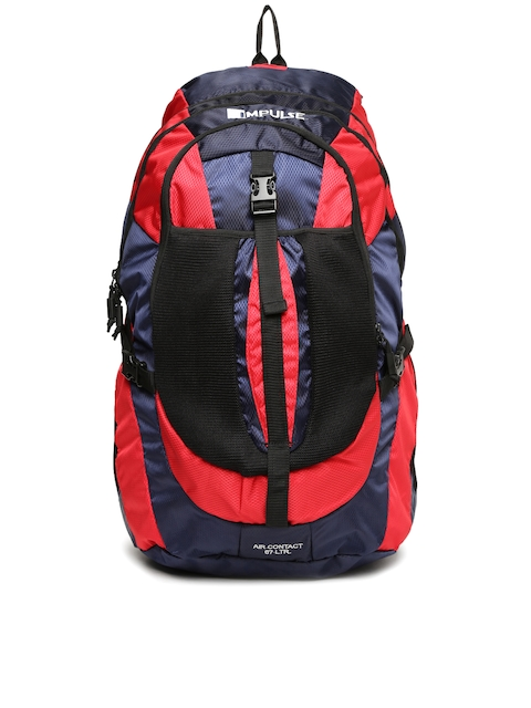 Impulse Unisex Red & Navy Air Contact 65 Litres Rucksack