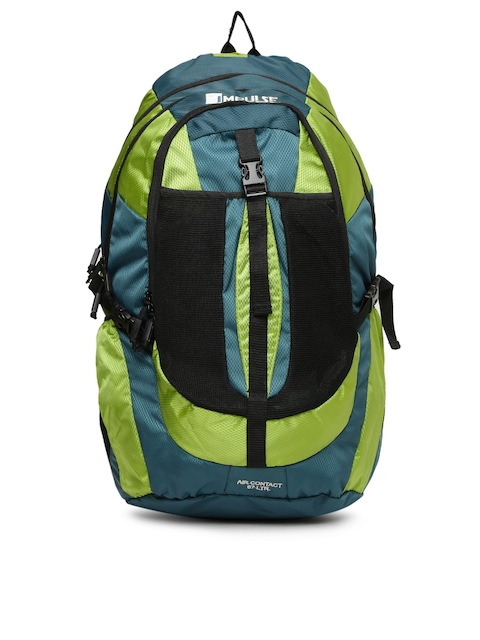 Impulse Unisex Green Air Contact Rucksack