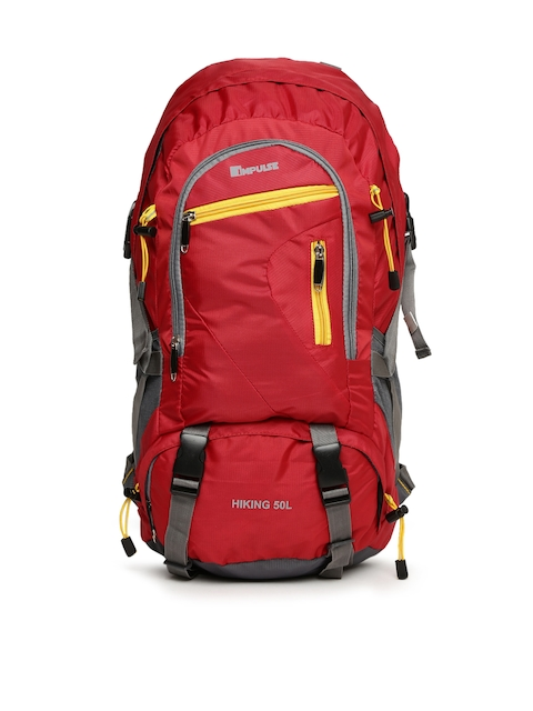 Impulse Unisex Red Rowdy Rucksack