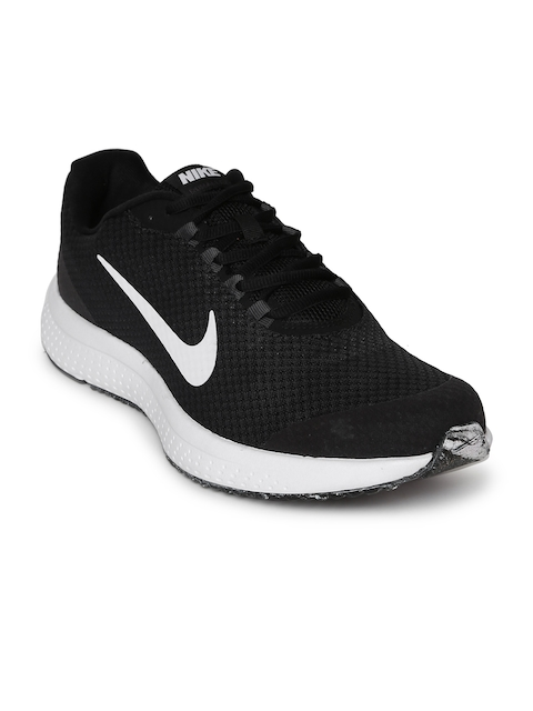 Nike Men Black Run All Day Running Shoe