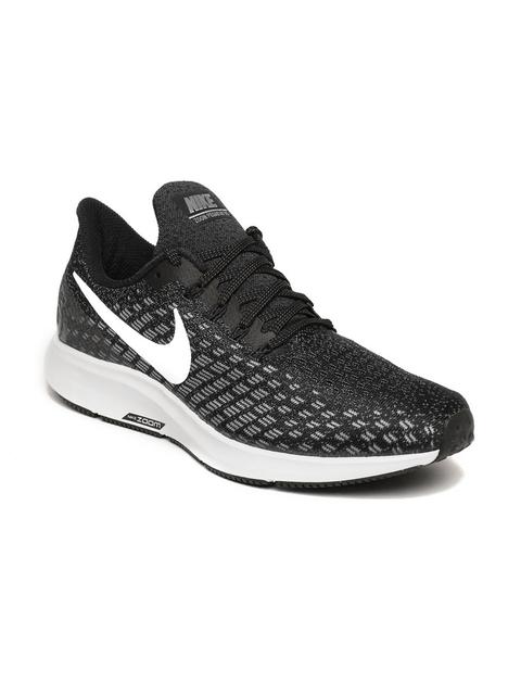 Nike Women Grey Air Zoom Pegasus 35 Running Shoes