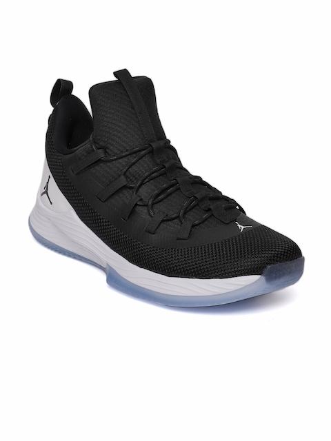 10c9435945bab3 ... coupon code nike men black white jordan ultra fly 2 low basketball shoes  de660 4f778