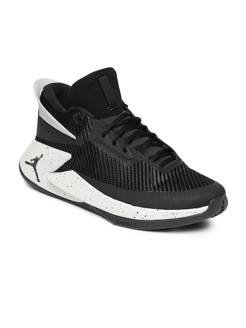Nike Men Black Jordan Fly Lockdown Basketball Sport Shoes