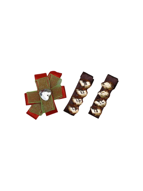 DChica Set Of 3 Stylish Clips For Girls