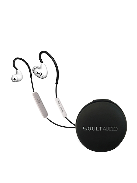 Boult White StormX Wireless AroundEar HD Headphones with Mic