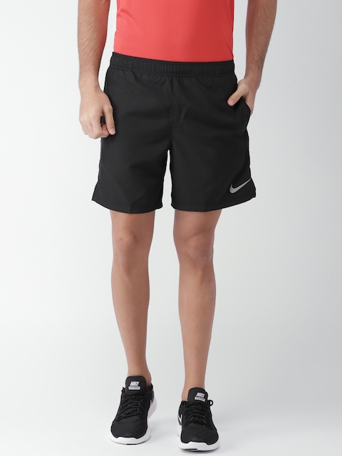 Nike Men Black Solid Standard Fit AS M NK CHLLGR SHORT BF 7IN Sports Shorts