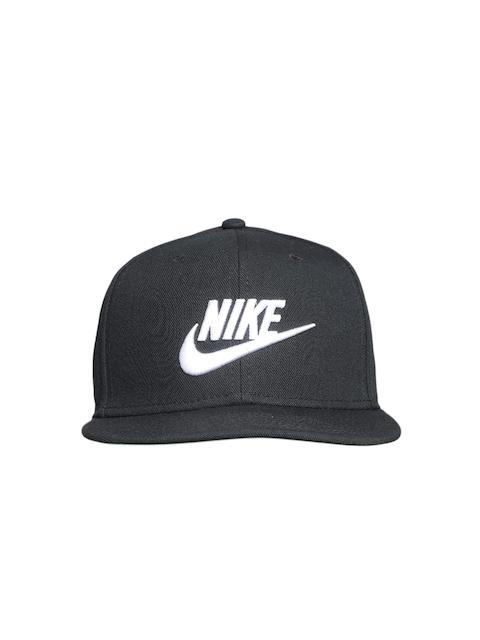 Nike Unisex Black U NSW Pro Futura Solid Snapback Cap