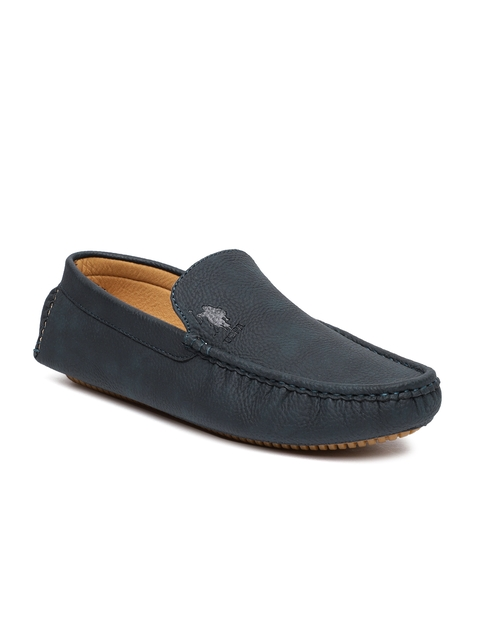 U.S. Polo Assn. Men Navy Blue Loafers