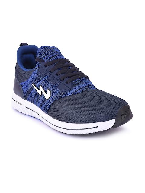 Campus Men Blue Running Shoes
