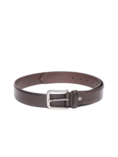 Woodland ProPlanet Men Coffee Brown Solid Leather Belt