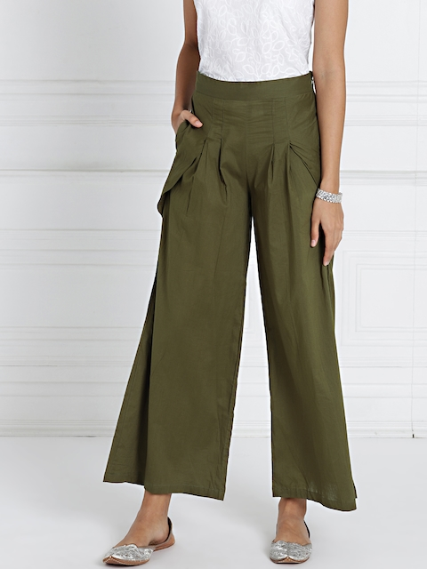 all about you from Deepika Padukone Olive Green Harem Pants
