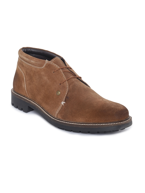Numero Uno Men Brown Suede Boots