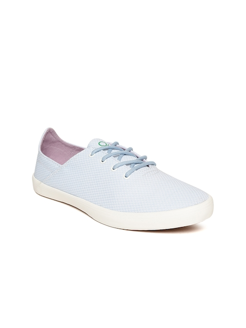 United Colors of Benetton Women Blue Sneakers