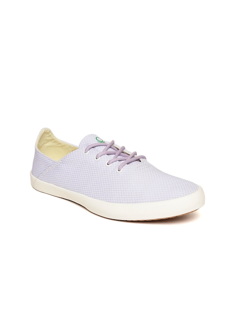 United Colors of Benetton Women Lavender Sneakers