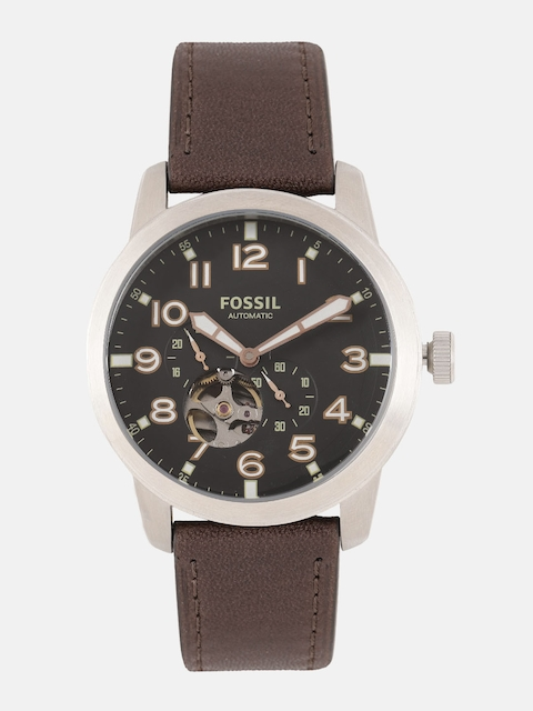 Fossil Men Black Analogue Watch ME3118I_OR