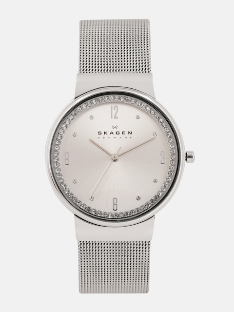 SKAGEN Women Silver-Toned Analogue Watch SKW2152I_OR