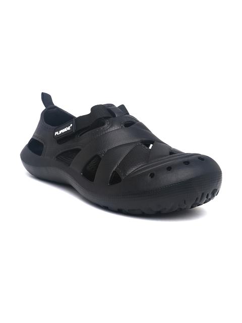 Flipside Men Black Clogs