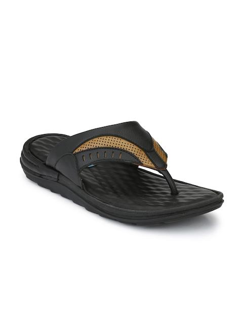 Ferraiolo Men Black Comfort Sandals