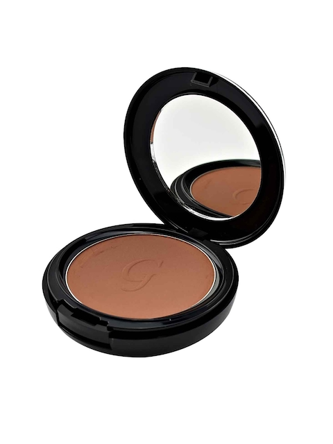 GlamGals Coffee Brown 3-in-1 Three Way Cake Compact Coffee 12 g