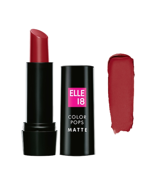 Lakme Elle 18 Color Pop Red Wave Matte Lip Color R35