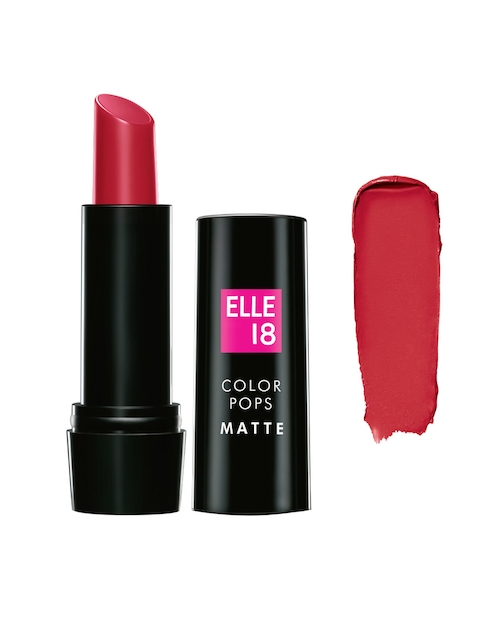 Lakme Elle 18 Color Pop Super Pink Matte Lip Color P30