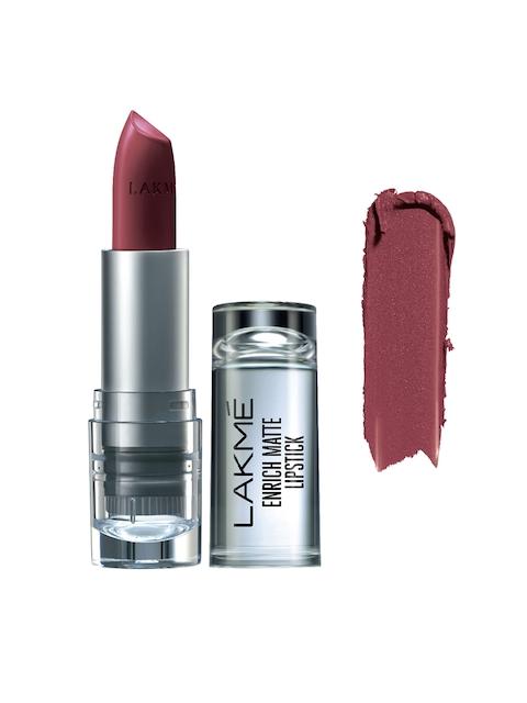 Lakme Enrich Matte Lipstick Shade RM10