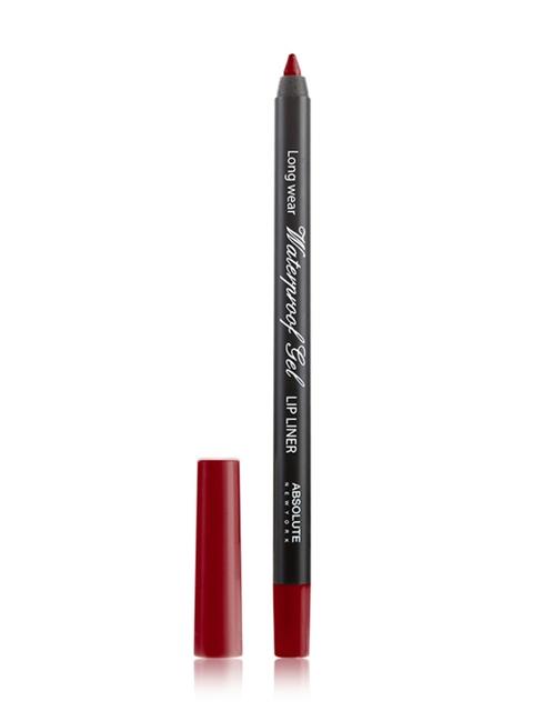 Absolute New York True Red Waterproof Gel Lip Liner NFB73
