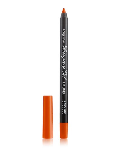 Absolute New York Orange Waterproof Gel Lip Liner NFB77