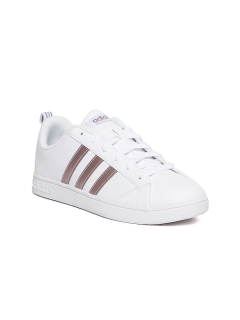Adidas Women White VS Advantage Tennis Shoes