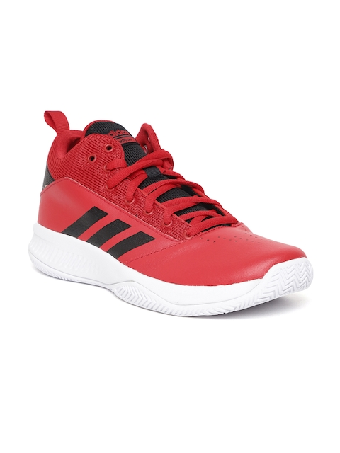 Adidas Men Red CF ILATION 2.0 Basketball Shoes