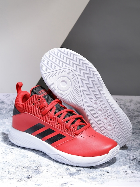 ADIDAS Men Red CF ILATION 2.0 Basketball Shoes
