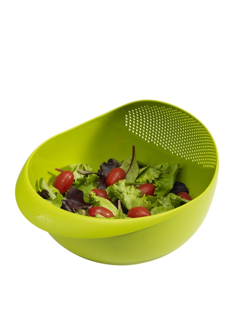 Joseph Joseph Green Multi-Function Bowl with Integrated Colander