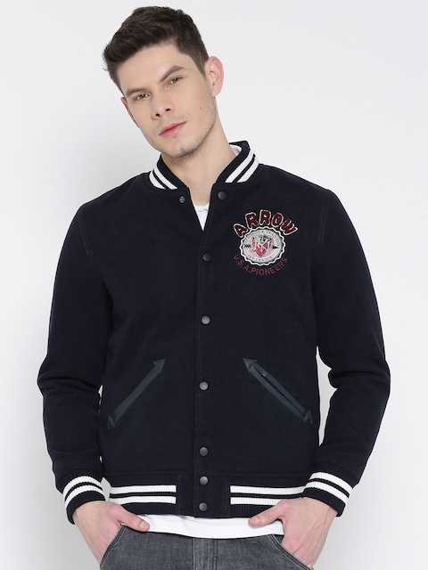 Arrow Sport Men Navy Jacket