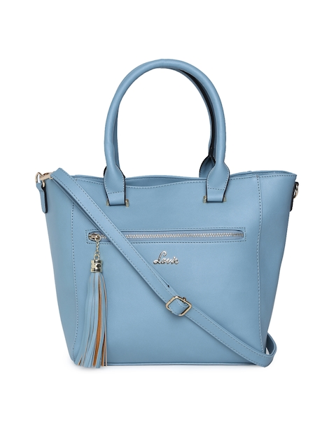 Lavie Blue Solid Handheld Bag