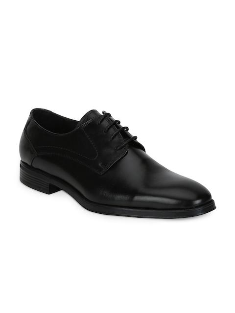 Park Avenue Men Black Formal Derby Shoes