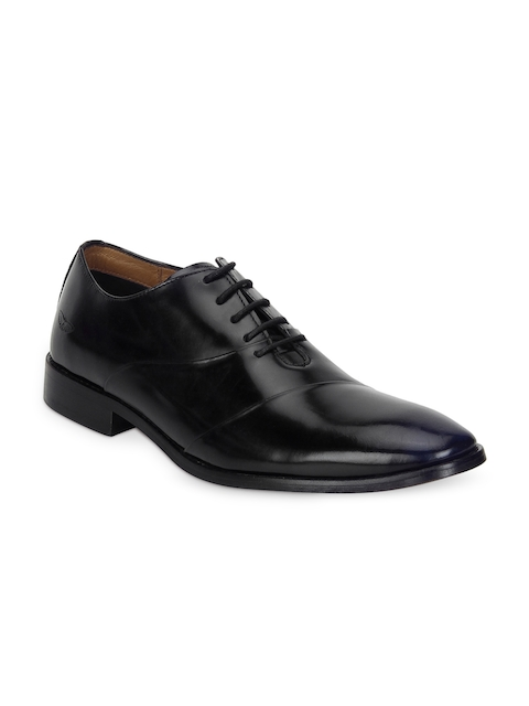 Park Avenue Men Black Formal Leather Oxford Shoes