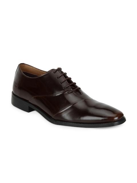 Park Avenue Men Brown Formal Leather Oxford Shoes