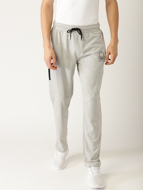 United Colors of Benetton Grey Melange Track Pants