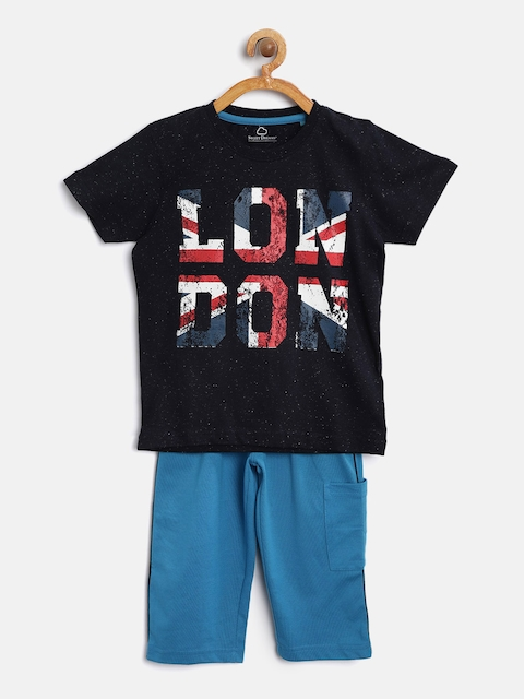 Sweet Dreams Boys Blue Printed Lounge Set 507318COM