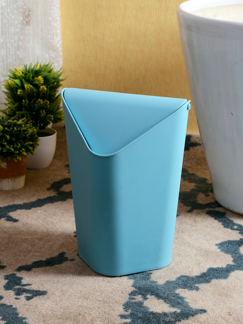 House Of Accessories Blue Solid Bath Accessories