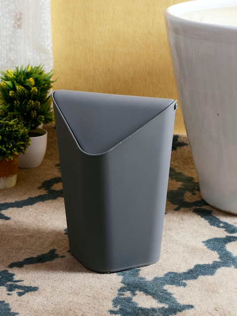 House Of Accessories Grey Solid Bath Accessory