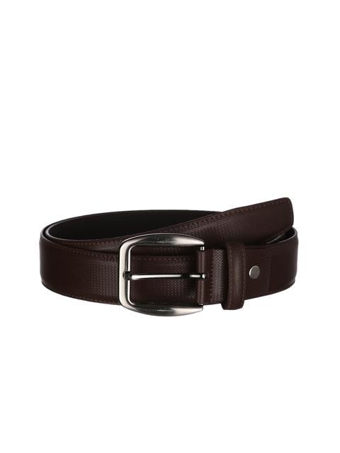 Kara Men Brown Solid Belt