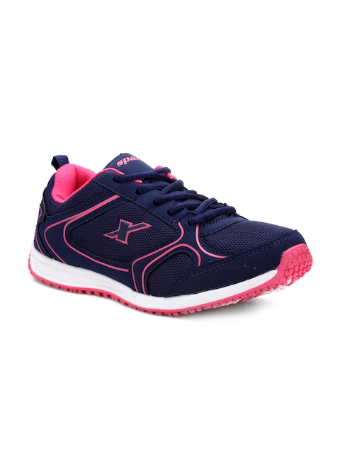 Sparx Women Blue And Purple Running Shoes