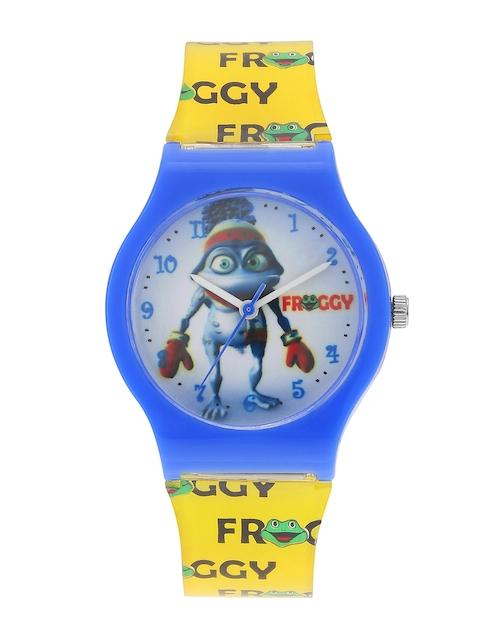 Fantasy World Kids Blue Analogue Watch FW-4001-BL-YL
