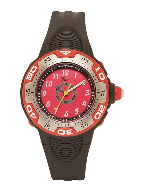 Zoop Kids Red Analogue Watch NKC1002PP01