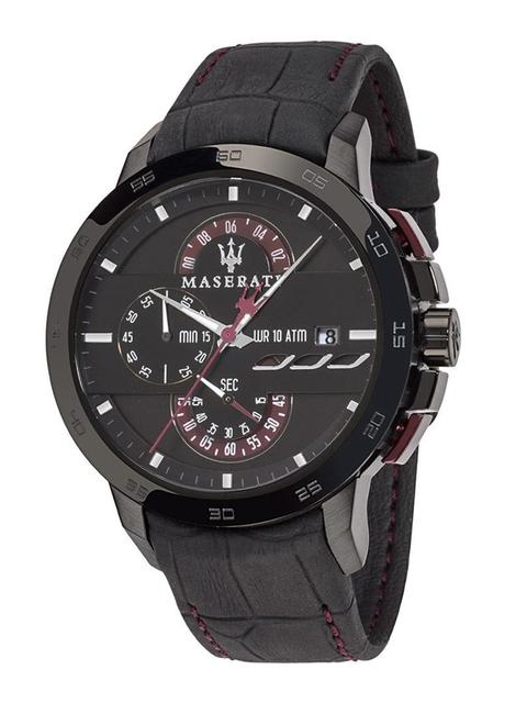 Maserati Men Black Analogue Watch