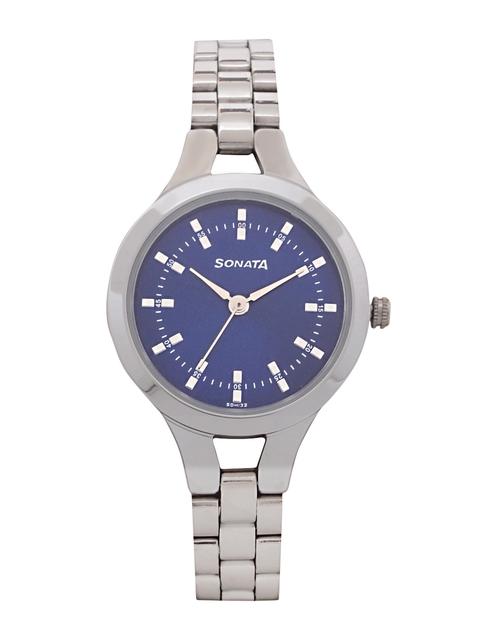 Sonata Women Blue Analogue Watch 8151SM04