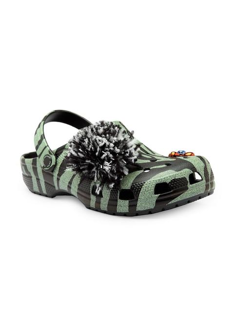 Crocs Men Green & Black Clogs